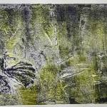 The Crow Collagraph 1 (2008)