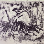 The Crow Monoprint (2008)