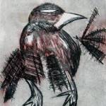 The Crow Etching 1 (2010)