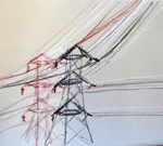 pylons drawing 2