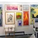 Trees & Roots IV & Cezanne at Martyrs' Summer Salon 2018