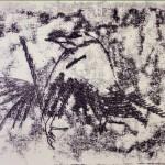 The Crow Monoprint (2008)