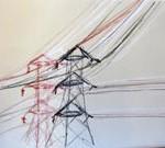 pylons drawing 2