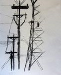 pylons drawing 3