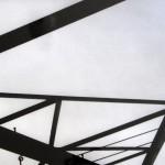pylons photo bw 1